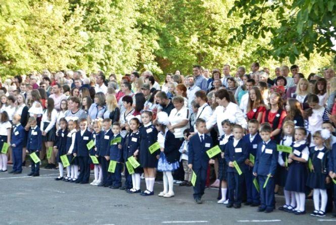 """За програмою """"Нова українська школа"""" у Кам'янці цьогоріч буде навчатися 1 200 першокласників"""