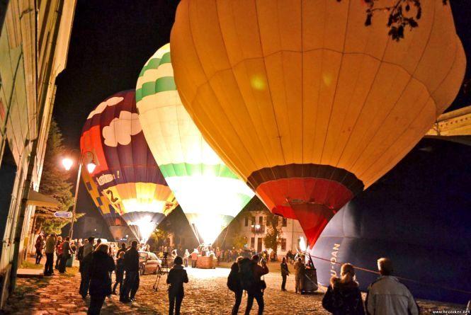 У Кам'янці стартував фестиваль повітроплавання