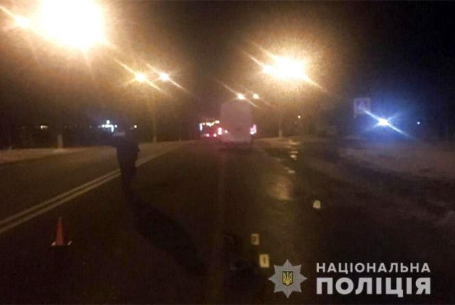 Ввечері на Хмельницькому шосе збили п'яного пенсіонера