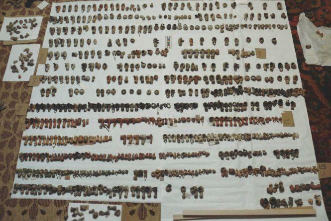 Кам'янецькі археологи опублікували фото колекції люльок кінця 17 століття