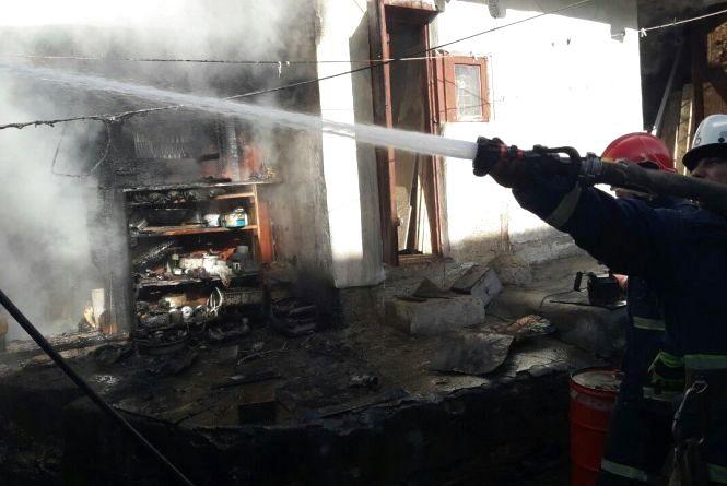 Недопалок цигарки спричинив пожежу на вулиці Руська