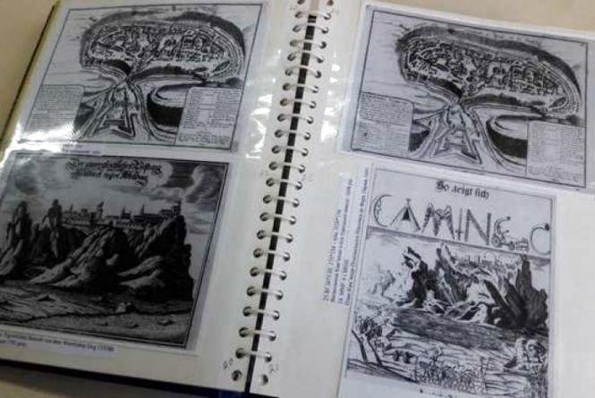 У фонди музею Кам'янця надійшов каталог з історичними фотокопіями міста 17-18 ст