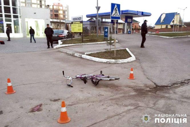 """У Кам'янці """"БМВ"""" збив велосипедиста"""