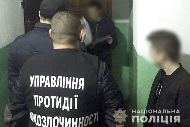Поліція Кам'янця затримала наркоторговців амфетаміном
