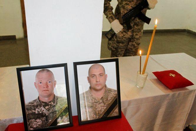 Кам'янчани провели в останню путь військових, які загинули під Києвом