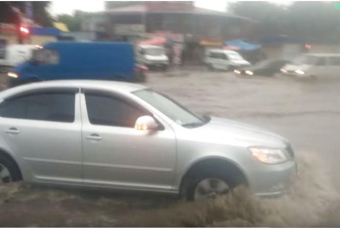 Злива затопила Кам'янецький острів скарбів  (ФОТО + ВІДЕО)