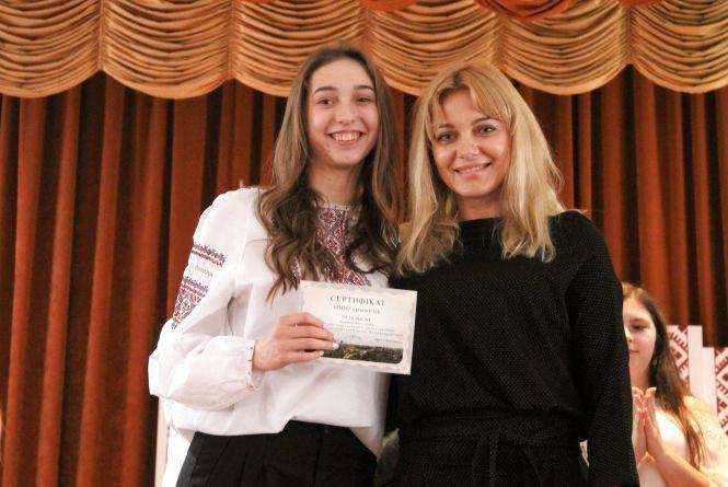 Кам'янецьких школярів нагородили грошовими сертифікатами