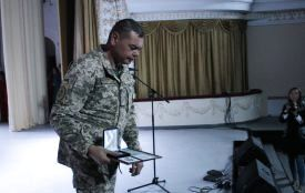 Як вшановували пам'ять і вітали військовослужбовців у Кам'янці (ФОТО)