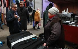 """""""Партія """"Основа"""" знає, як зробити так, щоб українці повернулись з-за кордону"""": Сергій Тарута у Хмельницькому (прес-служба партії """"Основа"""")"""