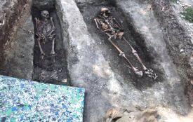 Археологи виявили масове поховання у Старому Замку  (ФОТО) ОНОВЛЕНО