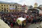 Як відбулося відкриття туристичного сезону у Кам'янці-Подільському (ВІДЕО)
